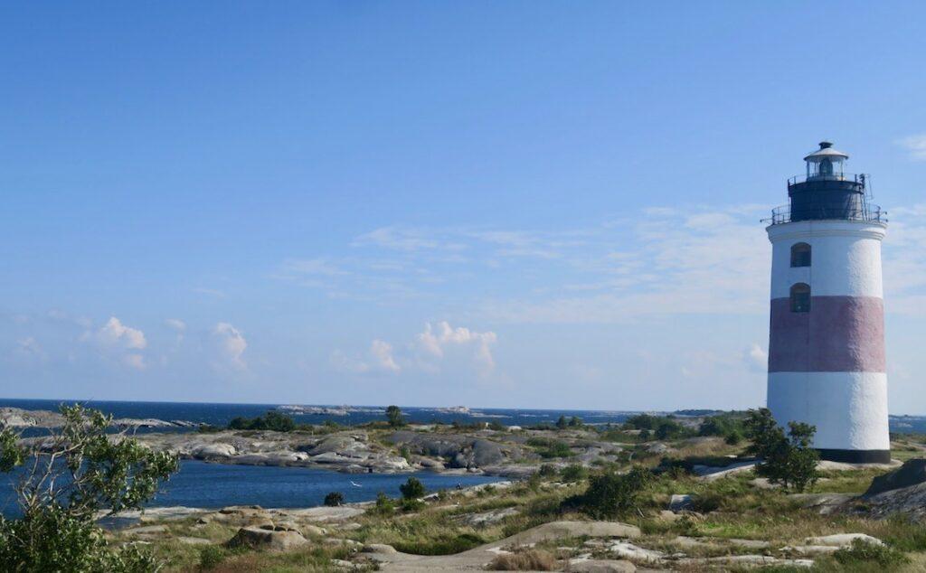 Ålands hav. Till Söderarm och Torskär, sista utpåsten på svenska sidan skulle vi ta oss
