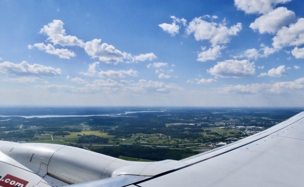 På väg från Arlanda. Sommaren 2021 och juni månad inleddes med att vi reste till Spanien
