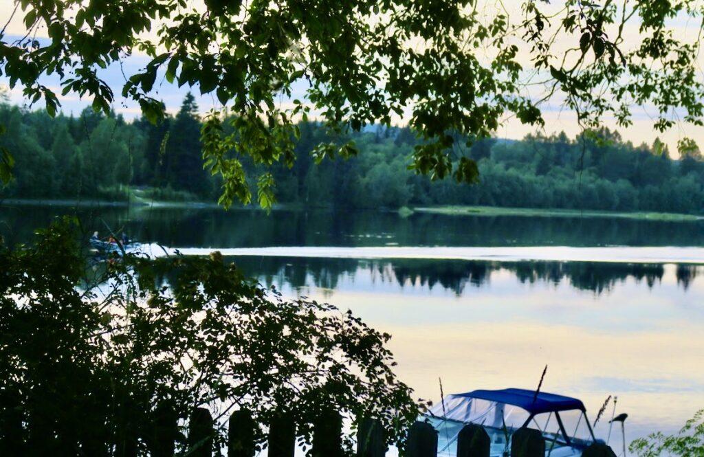 Medelpad. Timrå. Bergeforsen. Visst är den svenska sommaren vacker?