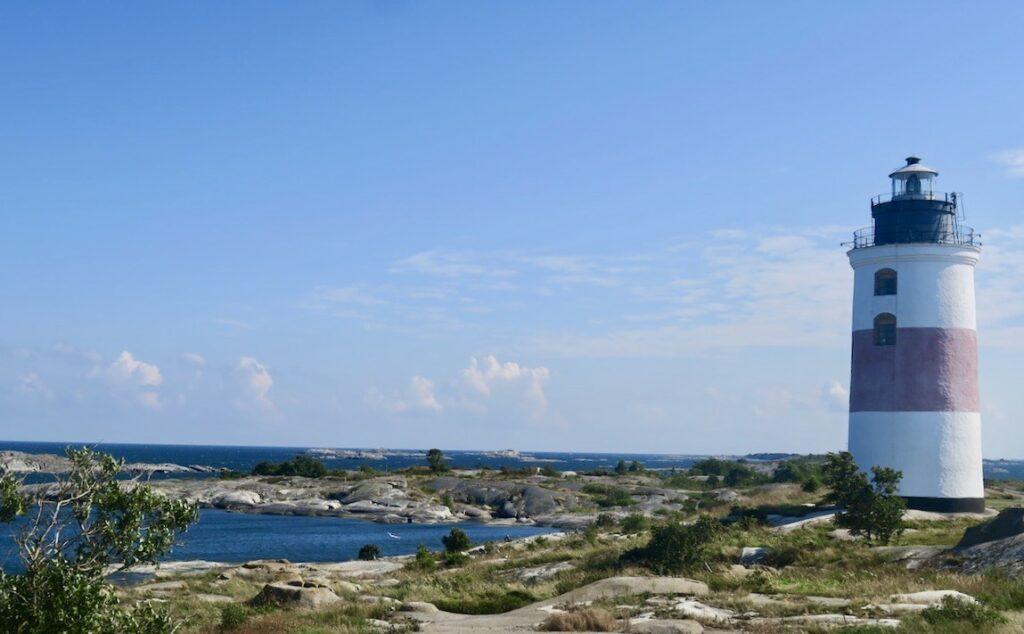 Fyrplatsen Söderarm. Torskör. Ålands hav. Tänk att vi kom hit ut sommaren 2021