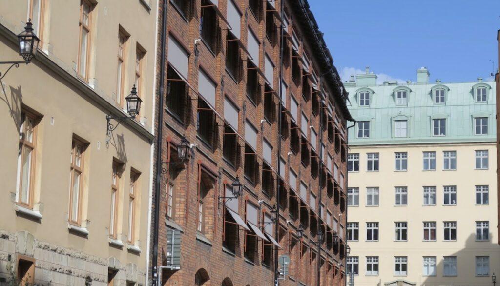 Stockholm. Södermalm. Mer från Södermalm och dess historia finns i kvarteren här runt Fiskaregatan och Svartstensgatan.