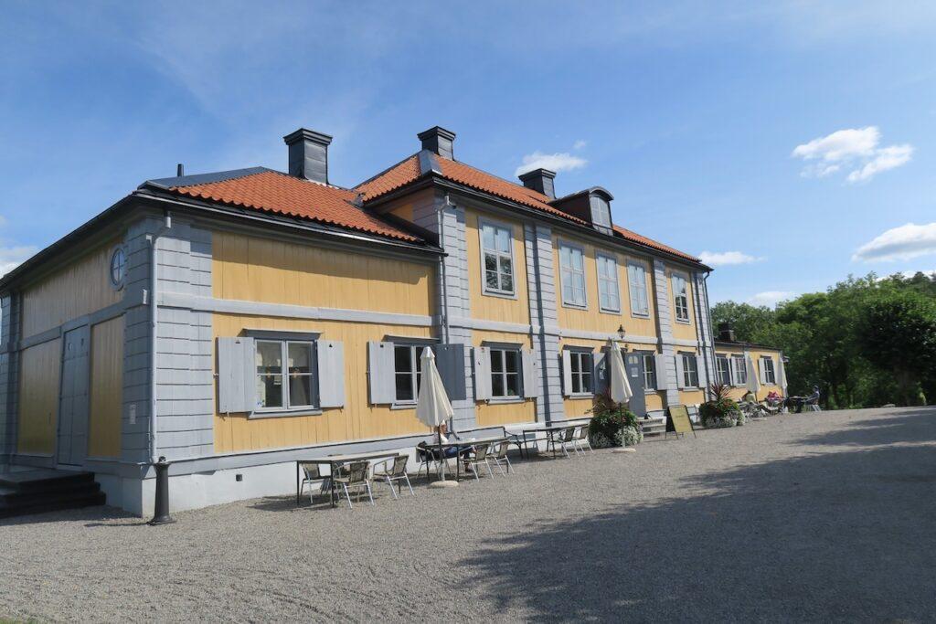 Nacka kommun. Herrgården Stora Nyckelviken
