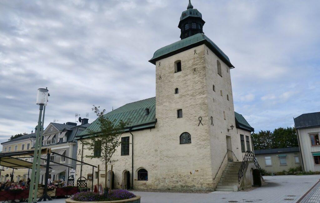 Rådhuset i Vadstena är från mitten av 1400-talet