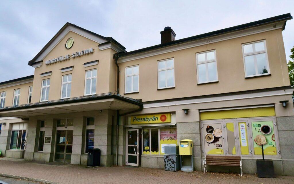 Busstationen i Norrtälje.