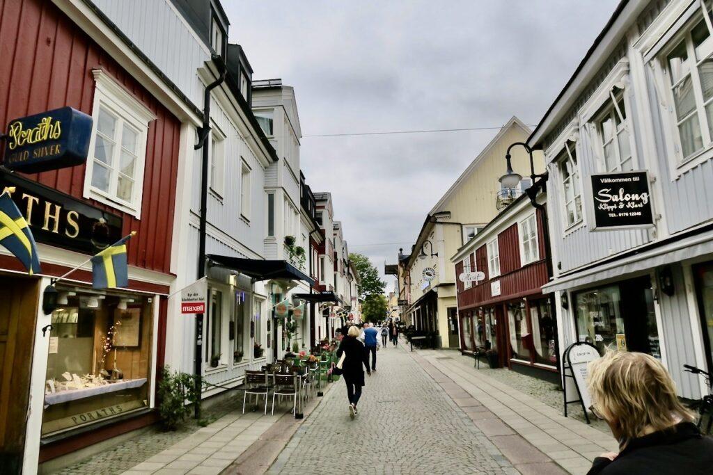 Norrtälje är verkligen en sommarstad. Ohc nu i mitten av september var det behagligt lugnt.